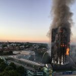 Grenfell Tower pic by Natalie Oxford via Twitter